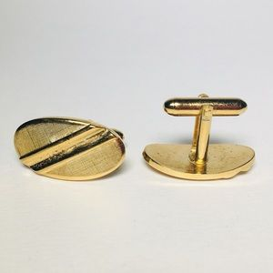 Other - Gold Tone Cuff Links